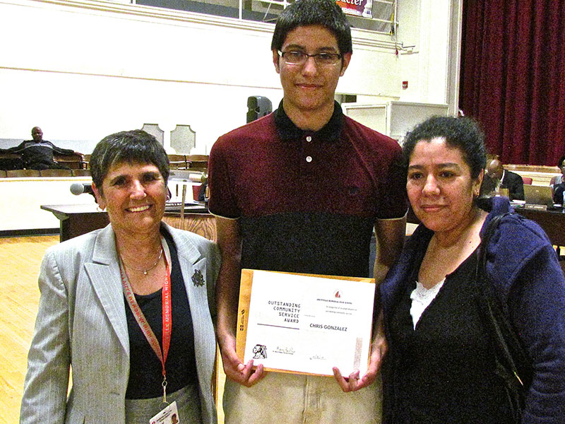 Junior Recognized by Town of Babylon
