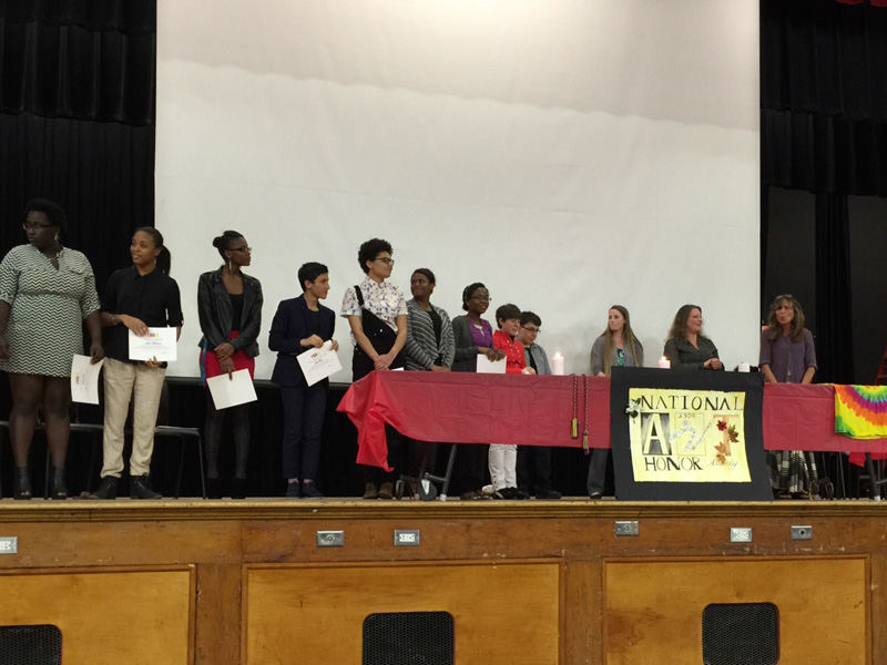 Amityville Art Honor Society Inducts Eight New Members